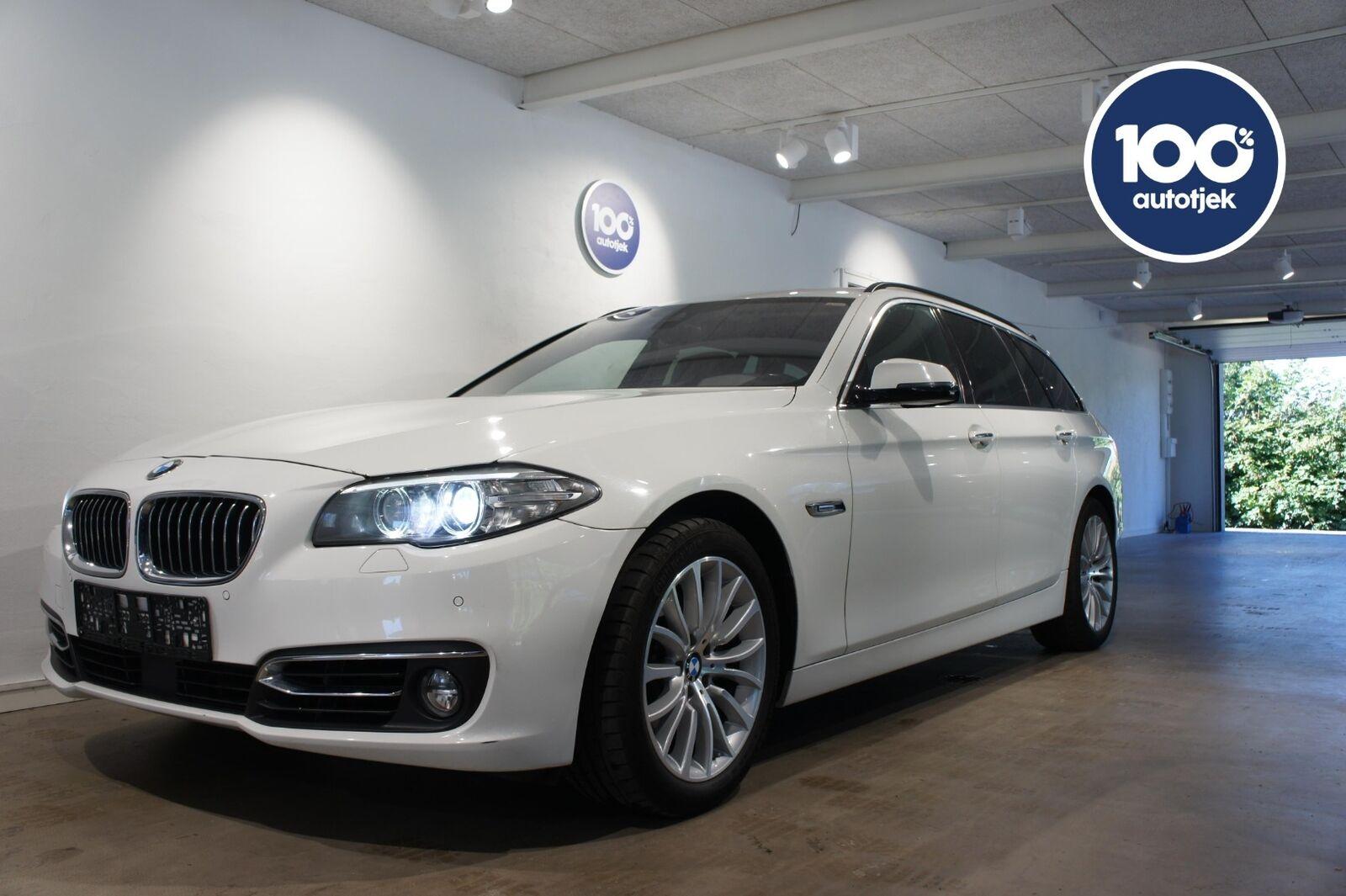 BMW 520d 2,0 Touring Luxury Line aut. 5d - 329.900 kr.