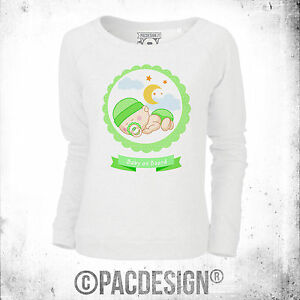 Baby Mom Mom Vintage Grafica Mother's Sweater On Baby incinta W Ne0183a Board wCXx1qHx