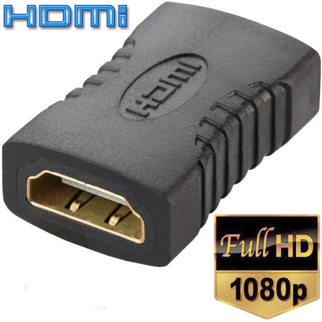 HDMI Adapter Kupplung Kabel Verlängerung Verbinder Buchse auf Buchse Full HD