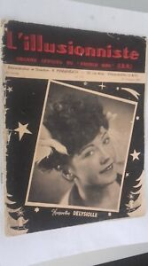 EL ILUSIONISTA Revista Dibujada N º 173 16è Annee 4è Cuarto 1950 ABE