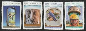 Australia-2020-Water-Tower-Art-Stamps-Design-Set-Mint-Never-Hinged