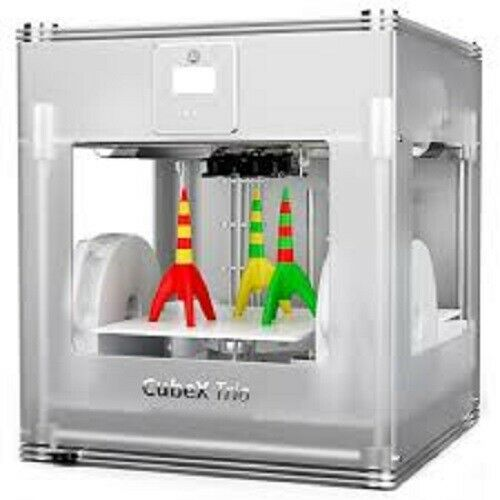 Cubify 3D Systems 401385 CUBEX TRIO 3D Printer Brand New SEALED IN BOX