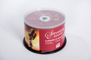 Sieveking-Sound-CD-R-24-Karat-Goldschicht-Ultradisc-Rohlinge-in-50-er-Spindel