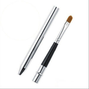 Portable-Smooth-Travel-Retractable-Lip-Brush-Makeup-Cosmetic-Lipstick-Gloss-Kw