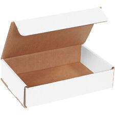 9 X 6 X 2 White Corrugated Mailingshipping Boxes Ect 32b 50case