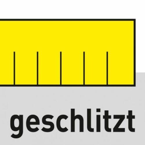 TRIUSO Premium Profi-Fliesenwaschbrett geschlitzt Hydro-Schwammbelag 30 mm