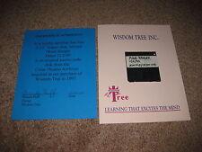 """Original Moon Ranger Source Code Floppy Disk 3.5"""" Color Dreams NES 11/2/90"""