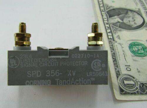 3 Element Corning Signal Station Surge Suppressors SPD 356-XV TandAction Hybrid