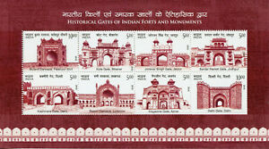 India-Architecture-Stamps-2019-MNH-Monuments-Delhi-Gate-Gates-Tourism-8v-M-S