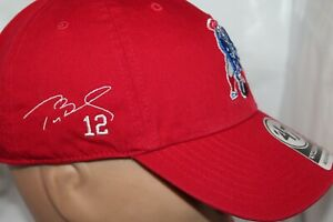 New-England-Patriots-NFL-039-47-Clean-Up-Old-School-Adj-Cap-Hat-Tom-Brady-12-Aut