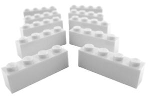 light bluish gray Lego 10 Stück Stein 1x4 hellgrau Basics Neu 3010 Steine