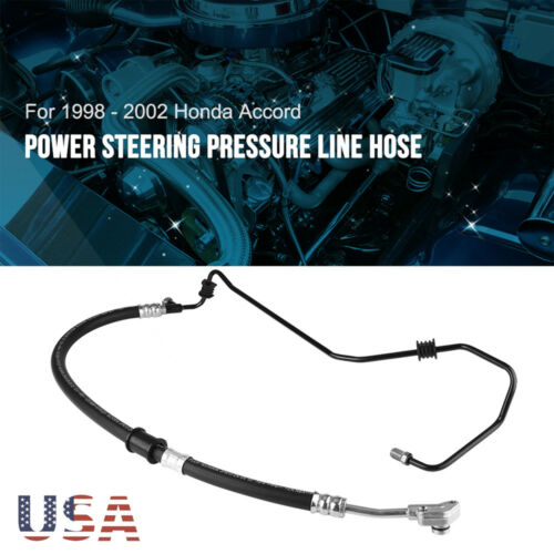 Power Steering Pressure Line Hose Assembly for 1998-02 Honda Accord V6 3.0L US
