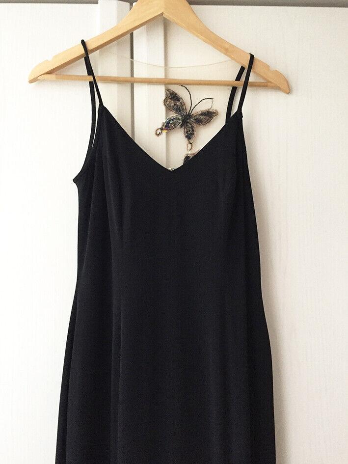 John Charles - Abendkleid - schwarz - hinten durchsichtig durchsichtig durchsichtig mit Pailletten - 38 40 | Rich-pünktliche Lieferung  | Vielfalt  5e804a