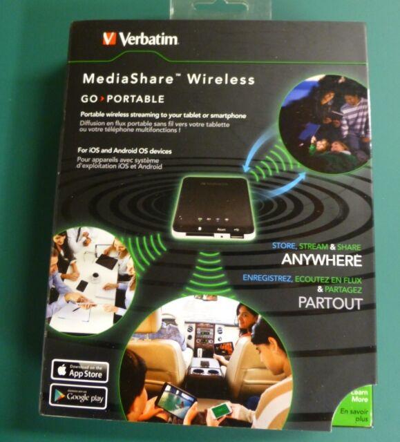 Verbatim - MediaShare Wireless - Neuf