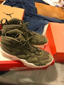 the best attitude 69d7f 79981 Nike Air Max 2 Uptempo QS Urban Haze Sail Men's Size 8.5 Olive Green ...