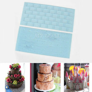 2Pc Brick Wall Wood Grain Impression Mat Cake Embosser Fondant Icing Sugar Mould - UK, United Kingdom - Returns accepted Most purchases from business sellers are protected by the Consumer Contract Regulations 2013 which give you the right to cancel the purchase within 14 days after the day you receive the item. Find out more about your  - UK, United Kingdom