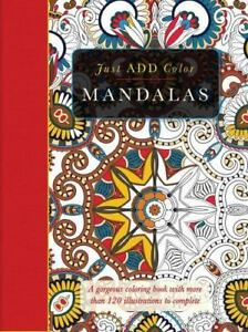 Mandalas-Gorgeous-Coloring-Books-With-More-Than-120-Illustrations-To-Complet