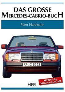 Mercedes-Benz-Cabrio-1949-92-170-220-S-SE-Ponton-W111-W124-Das-grosse-Buch-book