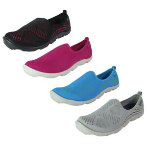 Crocs Women Duet Busy Day Xpress Mesh Skimmer Shoes