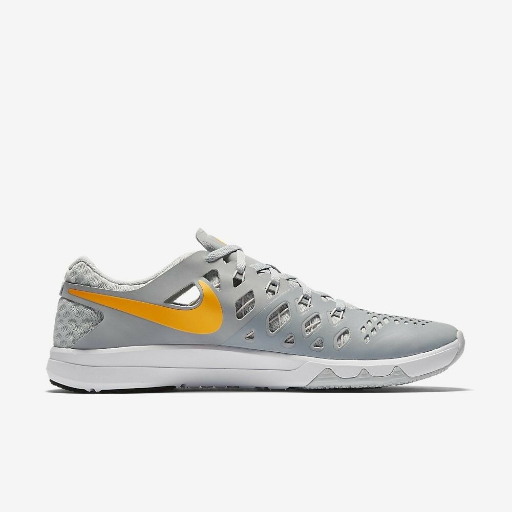 MENS NIKE TRAIN SPEED 4 SHOES SIZE 7.5 grey citrus 843937 003