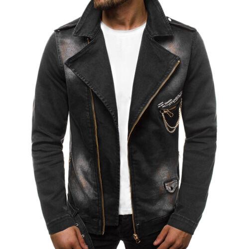 Veste en Jean Denim Vintage Classique Transition Veste Jeans OZONEE g//604 Hommes