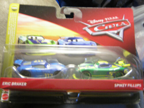 DISNEYPIXAR CARS 3 ERIC BRAKER /& SPIKEY FILLUPS  2 PACK