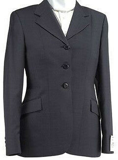 NEW w Tags SIGMA LADIES Show Coat Navy  PinStripe size 14 LONG  on sale