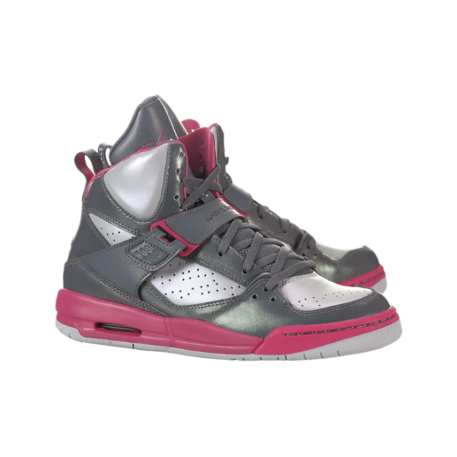 Jordan Flight 45 High Cool Grey Pink