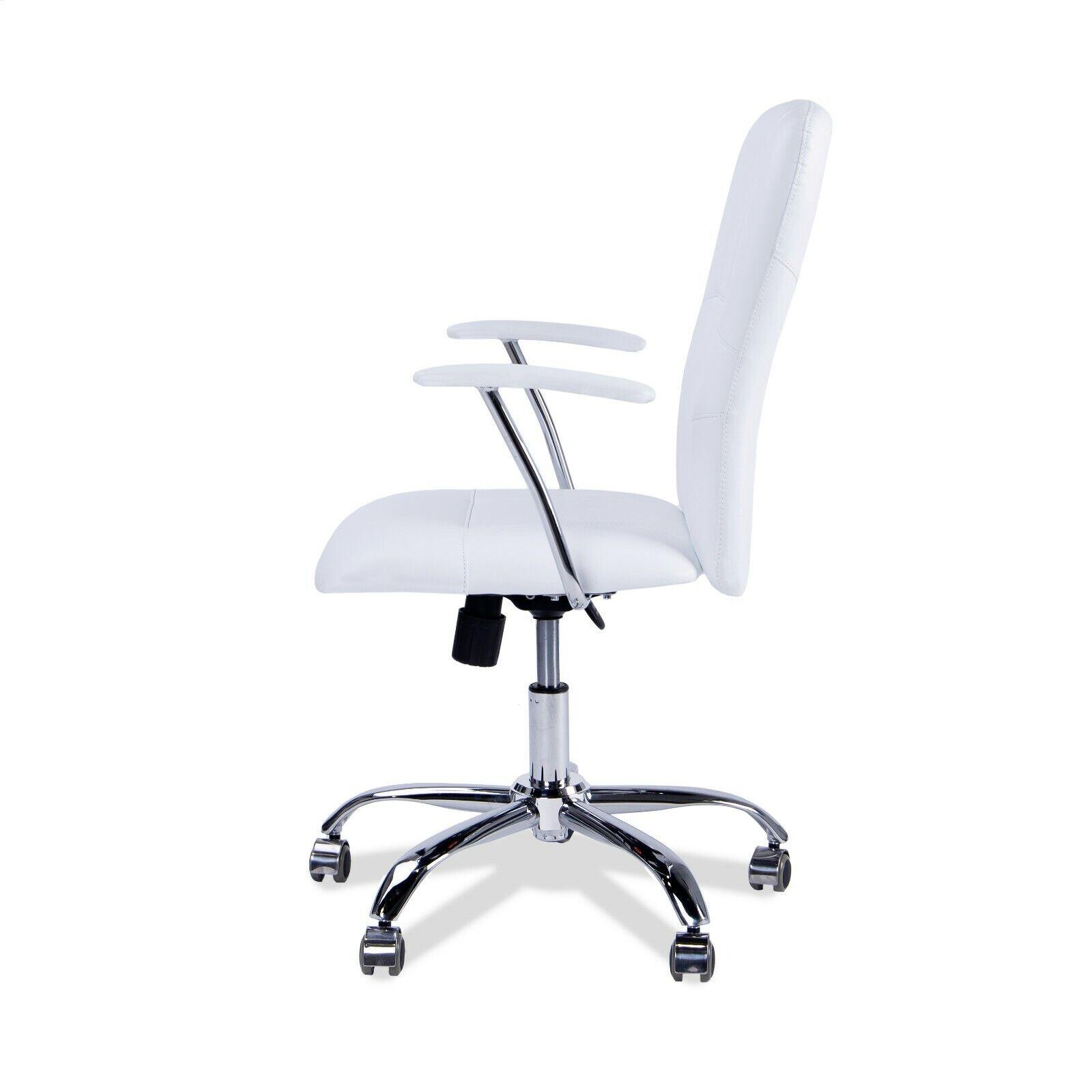s l1600 - Silla de oficina giratorio silla escritorio color Blanco o Negro, modelo: maggie