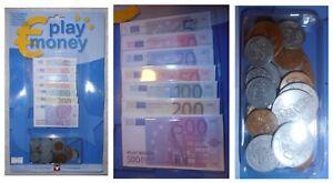 euro finti  Euro finti per giocare fiche fiches soldi: monete e 105 banconote cm ...