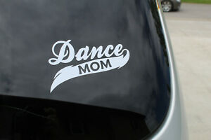 5 inches Vinyl Dance Mom decalsticker Choose color