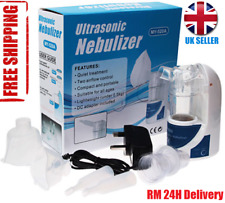 Portable Ultrasonic Nebulizer Handheld Nebuliser Inhaler Respirator UK Stock NEW