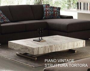 Tavolino Trasformabile Tavolo.Dettagli Su Tavolo Tavolino Trasformabile In Legno Saliscendi Nuovo Modello Allungabile 757