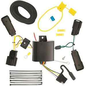 Trailer Wiring Harness Kit For 13 19 Ford Fusion All