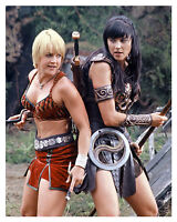 ---XENA---(LUCY LAWLESS) & (RENEE O CONNOR) 8x10 glossy Photo -a-