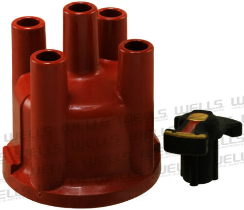 Distributor Cap and Rotor Kit WVE BY NTK 3D1073
