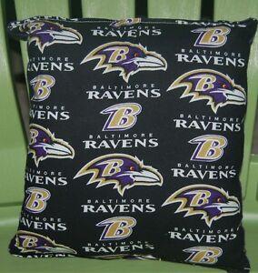 Ravens-Pillow-NFL-Pillow-Baltimore-Ravens-Pillow-Football-Pillow-HANDMADE-In-USA