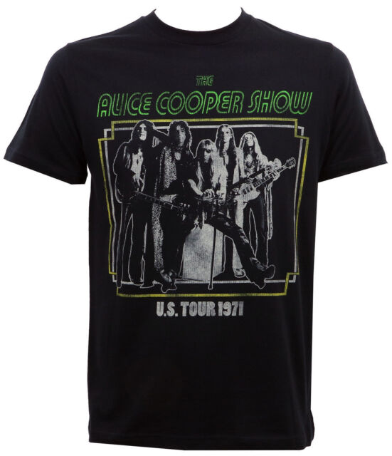 Alice Cooper 'US Tour 1971' T-Shirt - NEW & OFFICIAL