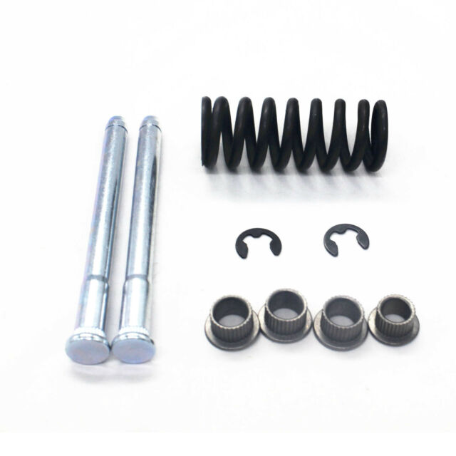 For Chevrolet S10/15 Car Front + Rear Door Hinge Pin with Spring and Bushing Kit