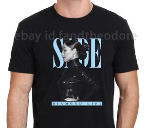 3e6dd141781e SADE ADU Diamond Life vintage 90's Gildan Men's Black T-shirt Size S ...
