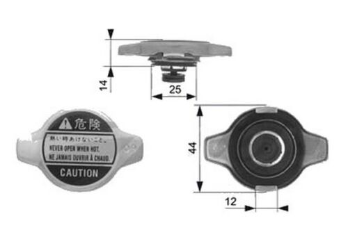 Radiator Cap Accessory Replacement Part Fits Subaru Tribeca B9 2006-2016