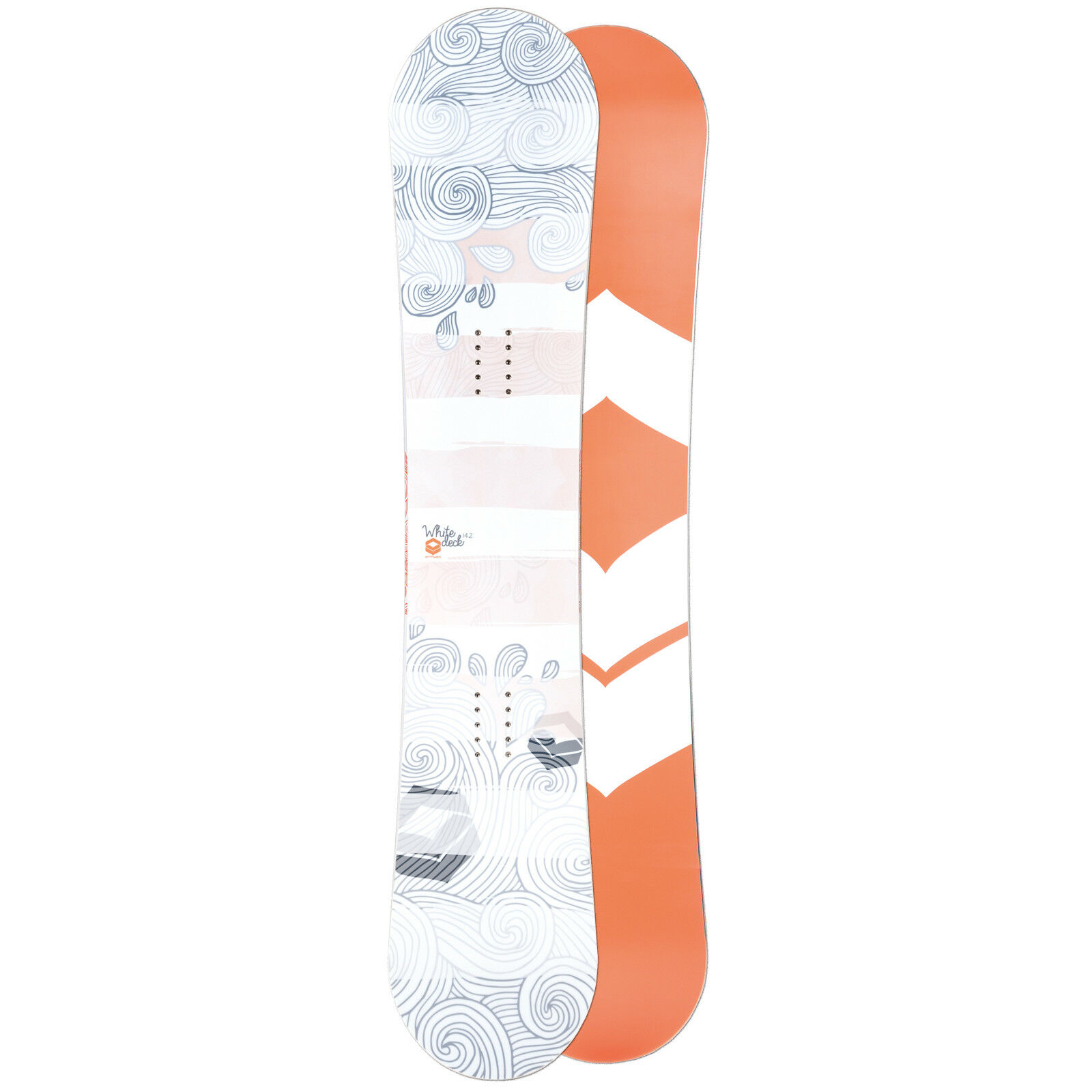 Ftwo Donna Freestyle Snowboard biancadeck 2019 142 cm  Camber