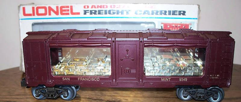 Lionel San Francisco Mint coche   6-9349 - Nuevo, Sin Usar