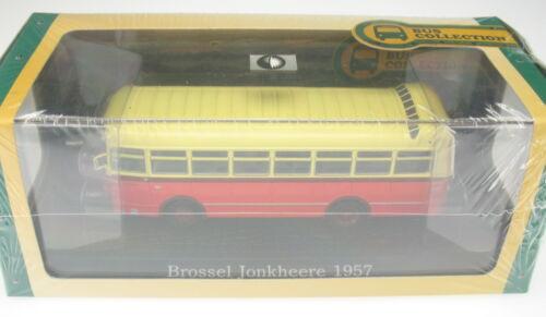 Bus Reisebus Coach Autobus NEU /& OVP ATLAS Brossel Jonkheere 1957 1:72