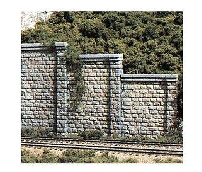 Attivo Woodland Scenics C1259 Retaining Walls 3 Cut Stone Sections 1:87 Scale-ho Gauge Alleviare Reumatismi E Freddo