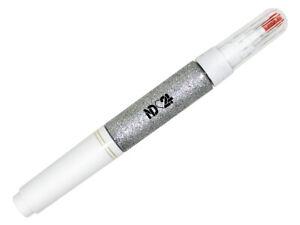Profi-Nagel-Design-Nail-Art-Pen-glitter-silber-Nagellack-Stift-Gel-Liner-Malerei