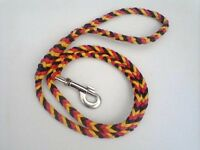 Paracord Xl Dog Leash Braided Hand Made You Can Pick The 3 Colors (4 Foot)