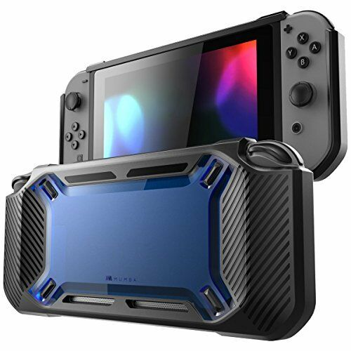Mumba Nintendo Switch case Heavy Duty Slim Rubberized Snap on Hard New