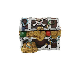 Resin Pirate Chest Box 8 cm x 6 cm x 6 cm