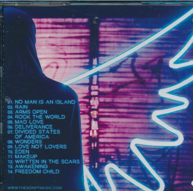 Script Freedom Child CD NEW No Man Is An Island Rain Arms Open